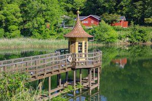 水あび小屋