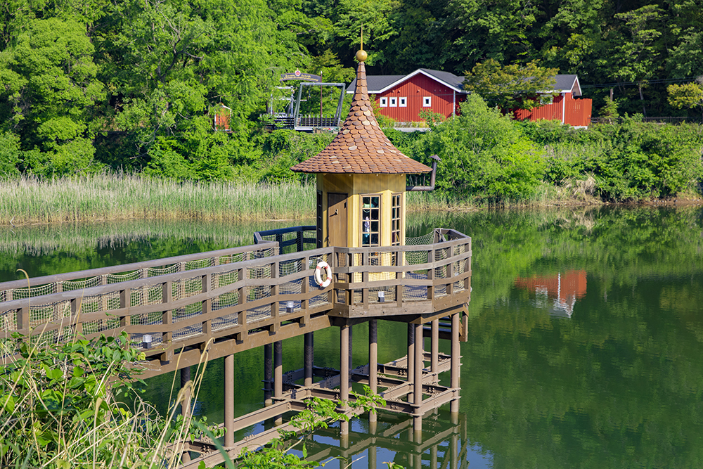 水浴び小屋 1