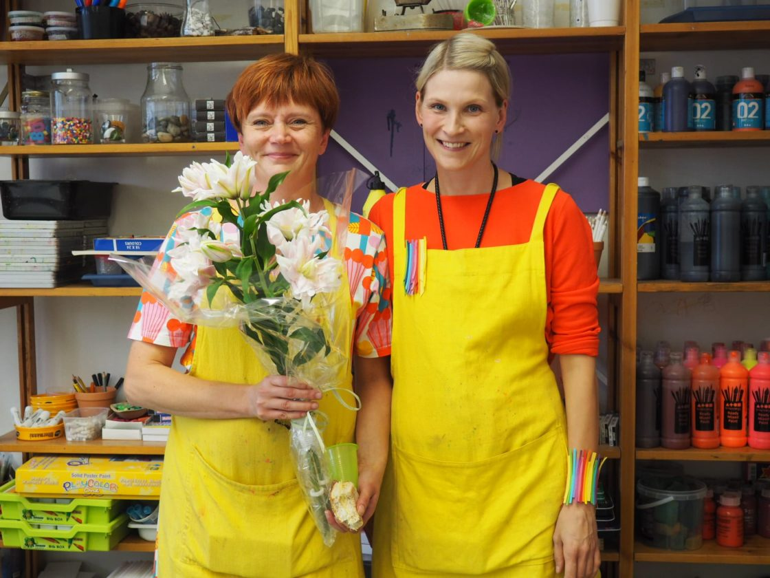 Porvoo Art School is coming from Finland, a major educational country!