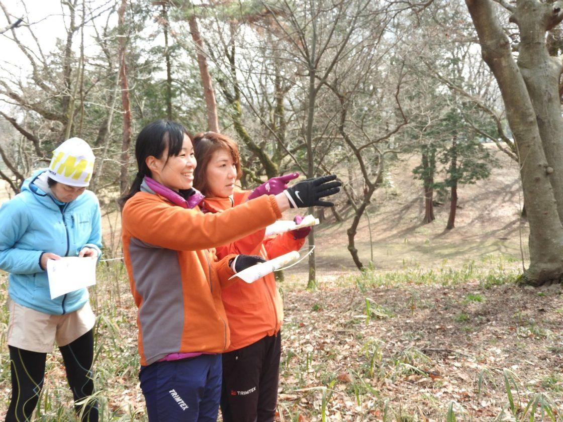 Orienteering in metsä Village 1