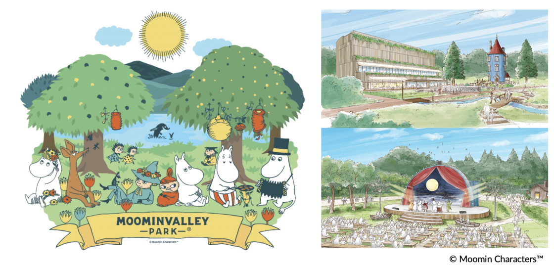 """Opened on March 2019, 3 (Saturday) on the shore of Lake Miyazawa, Hanno City, Saitama Prefecture Admission fee for """"Moomin valley Park"""" decided ~ Advance sale on the official website of """"metsä"""" from mid-January ~"""