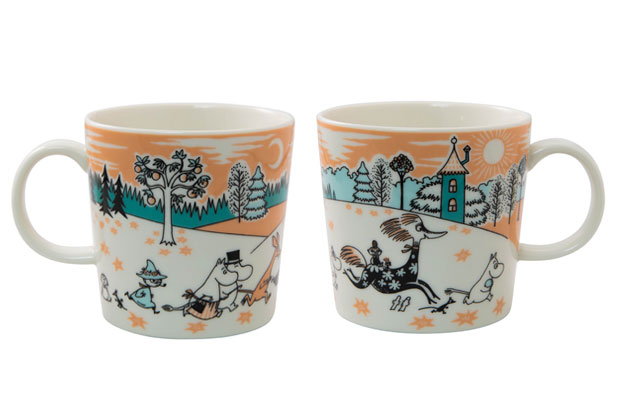 ムーミンバレーパーク限定マグ再入荷します。 The special Arabia Moominvalley Park mug will be restocked