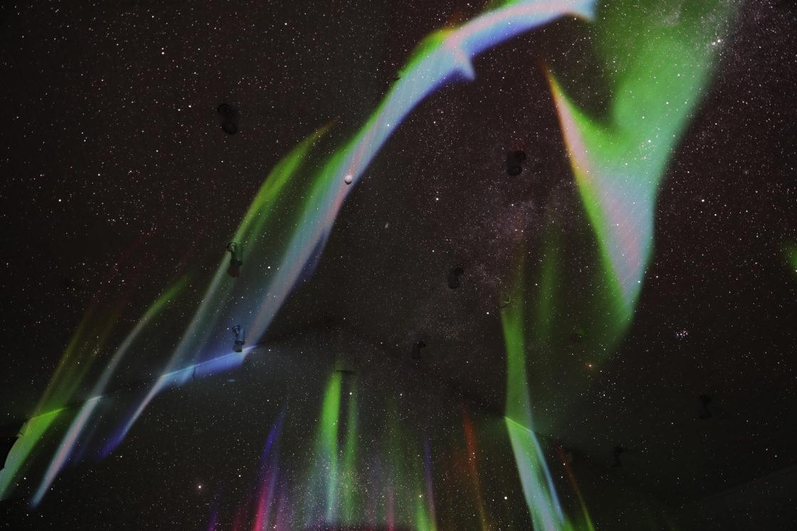 """~ Star falling metsa ~  """"Nordic Sky Planetarium Space"""" 3"""
