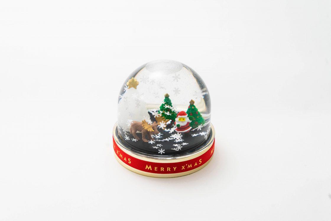 [Christmas in metsä village]  Snowy Christmas Snowdome 2