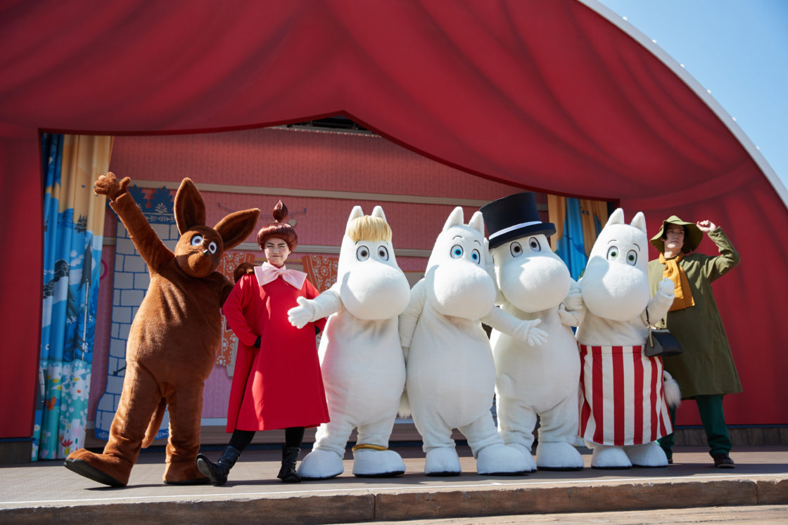 "Enjoy this fall at the ""Moominvalley Park Harvest""! 2"