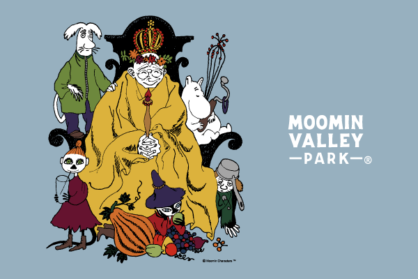 "Enjoy the autumn outing season at the ""Moominvalley Park"" harvest festival! ~ Enjoy the world of Moomin's story as a character in Moomin's story ~"