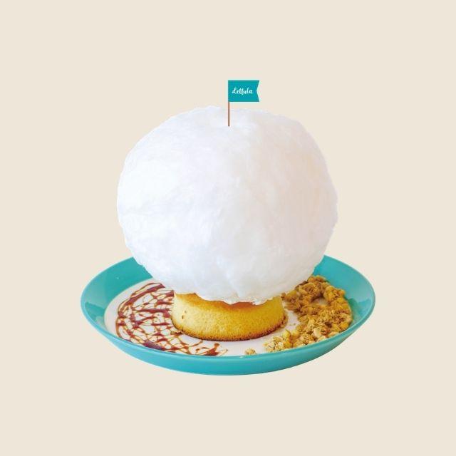 雲のコットンキャンディーパンケーキ