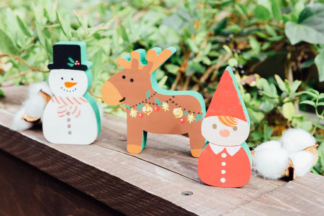 [Christmas in metsä village]  Let's paint on Tonto, Reindeer, Yuki Dharma! 1