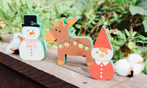 【メッツァビレッジのクリスマス】トントゥ・トナカイ・ユキダルマに絵付けしよう!