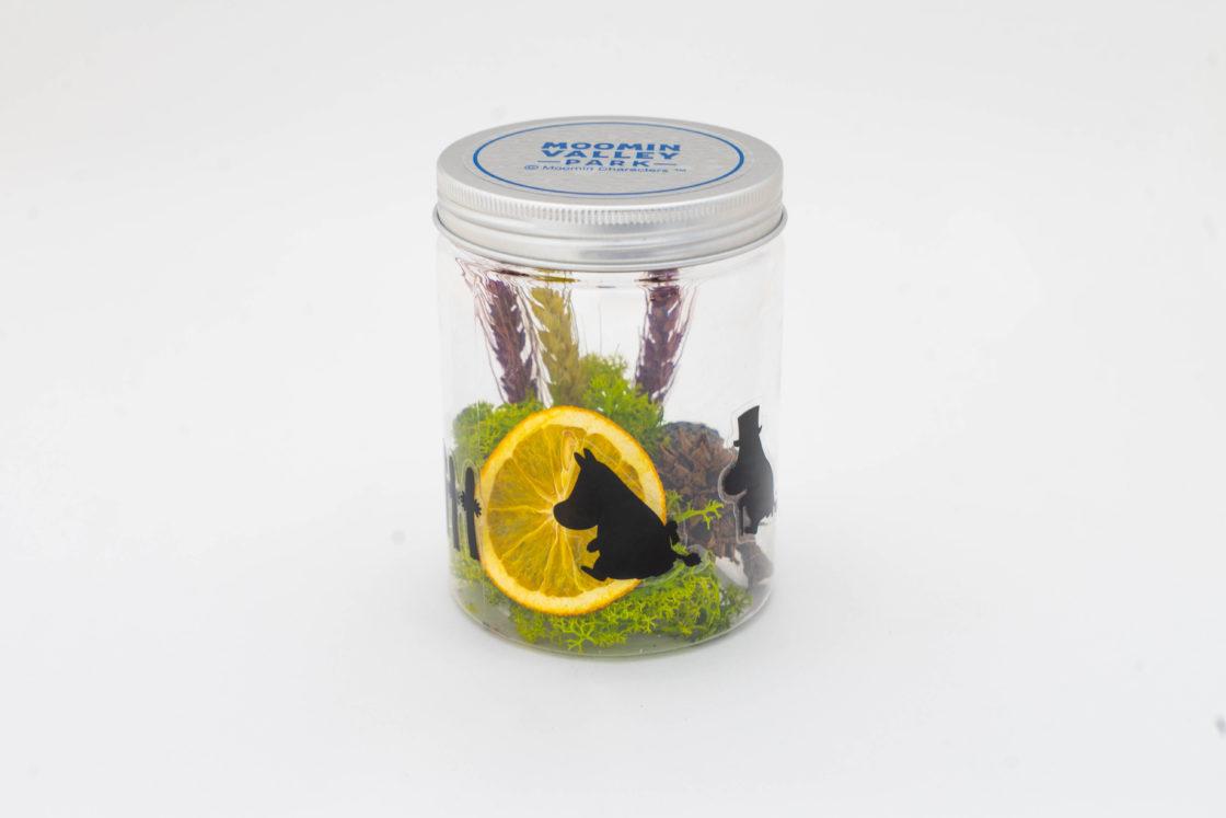 ムーミン谷のドライフラワーライトボトル 2