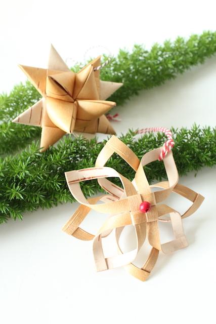 【メッツァビレッジのクリスマス】<br>北欧伝統工芸ネーベルスロイド(白樺樹皮細工) 2