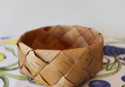 【メッツァビレッジのクリスマス】北欧伝統工芸ネーベルスロイド(白樺樹皮細工)