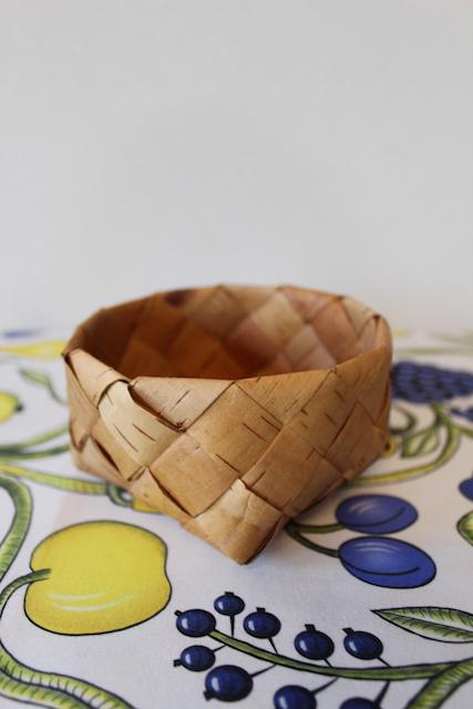 【メッツァビレッジのクリスマス】<br>北欧伝統工芸ネーベルスロイド(白樺樹皮細工) 1