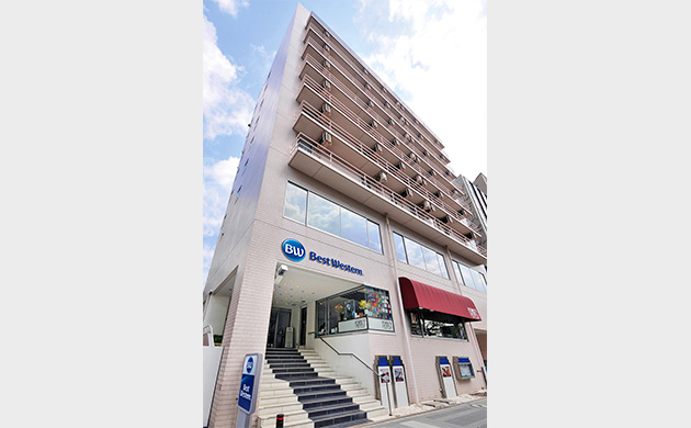 Exterior photo of Best Western Yokohama
