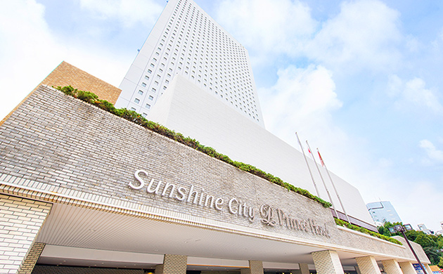Exterior photo of Sunshine City Prince Hotel
