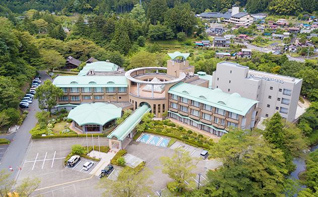 休暇村奥武蔵の外観写真