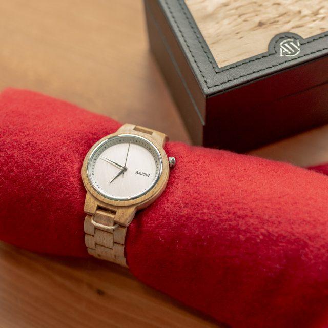 木製腕時計 XO オーク
