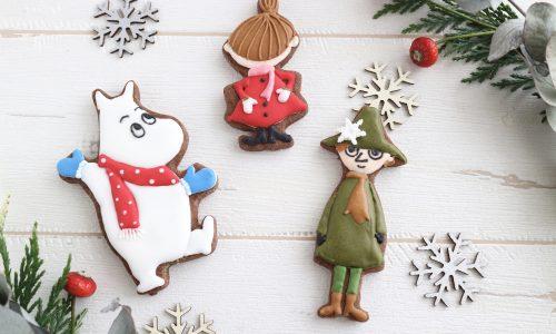 【申込終了】ムーミン谷の冬のアイシングクッキー