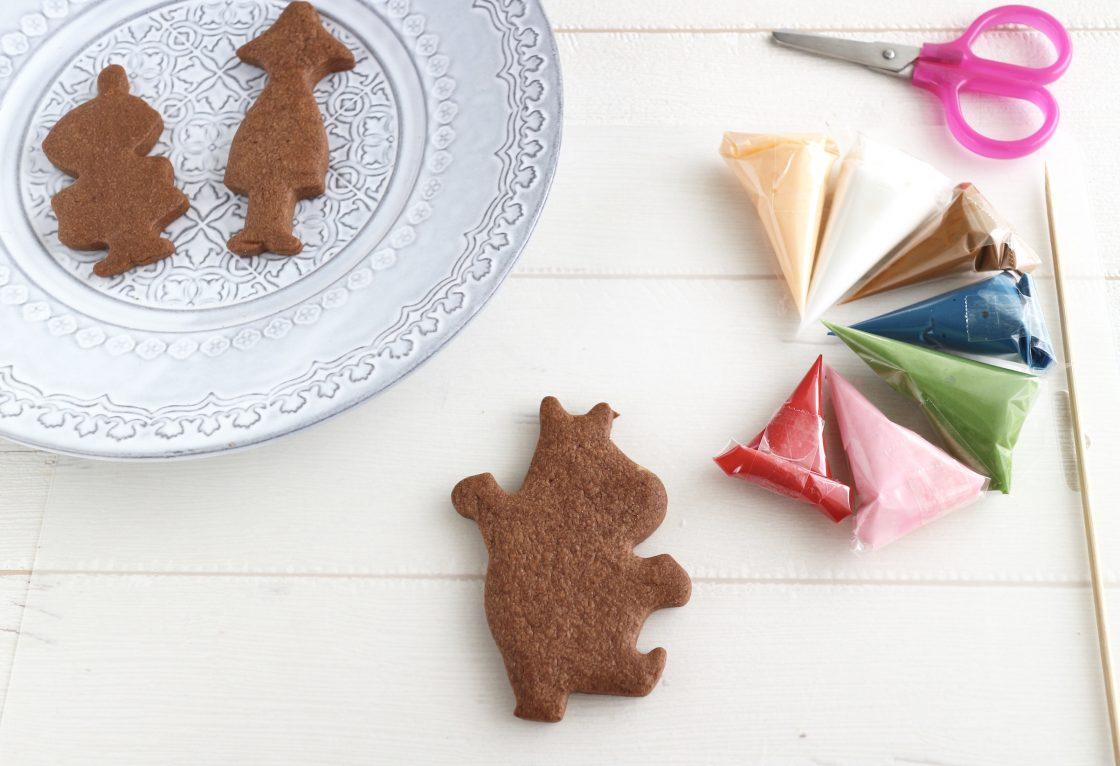 【申込終了】<br>ムーミン谷の冬のアイシングクッキー 2