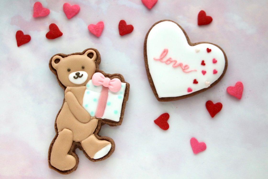 【予約受付中!】<br>バレンタインのアイシングクッキー 1