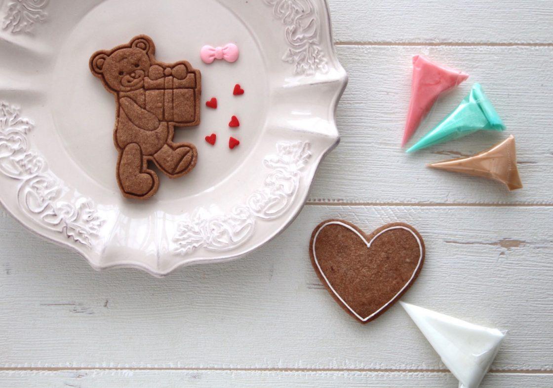 【予約受付中!】<br>バレンタインのアイシングクッキー 2