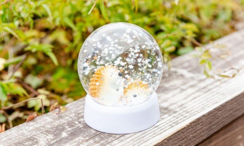 """metsä village snow globe """"Hedgehog"""" 1"""