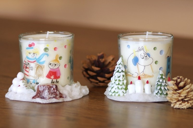 Moominvalley candles [WINTER WONDERLAND in MOOMINVALLEY PARK] 1