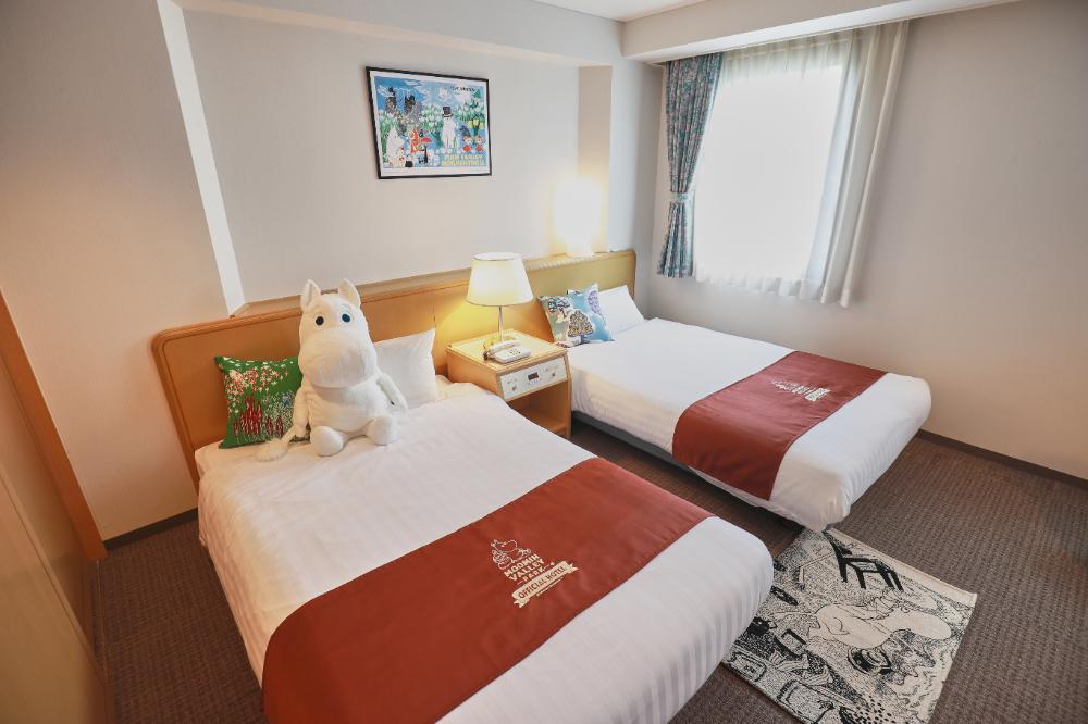 「ムーミンバレーパーク」新規オフィシャルホテルを発表