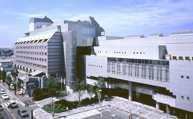 Exterior photo of Kawagoe Prince Hotel