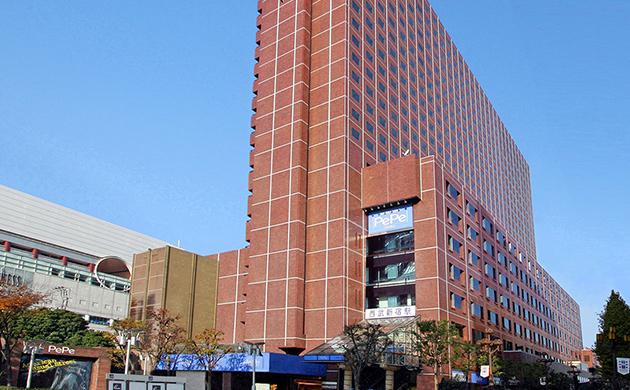 Exterior photo of Shinjuku Prince Hotel