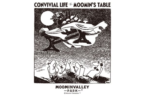 """New exhibition """"Moomin's Dining Table and Convivial Exhibition-Eating, Living Together-"""" Held First visit to Japan and world's first collection of food from Finland"""