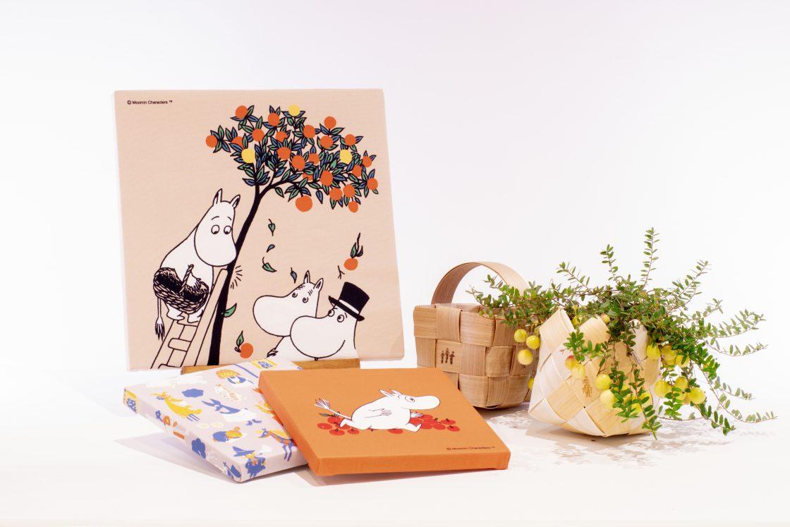 【Four Seasons Collection】ムーミン谷の仲間たちのファブリックパネル 1